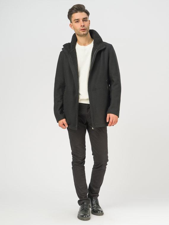 Текстильное пальто , цвет черный, арт. 18109074  - цена 3990 руб.  - магазин TOTOGROUP