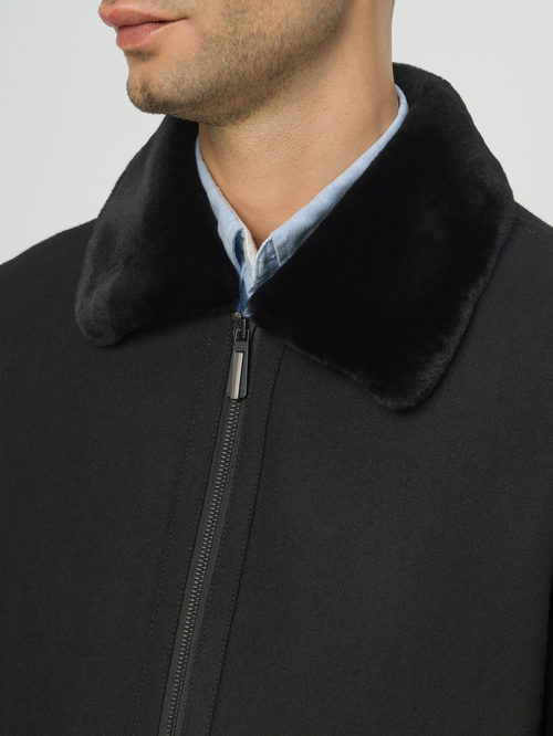 Текстильное пальто артикул 18109075/48 - фото 4