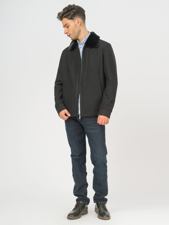 Текстильное пальто , цвет черный, арт. 18109075  - цена 6290 руб.  - магазин TOTOGROUP