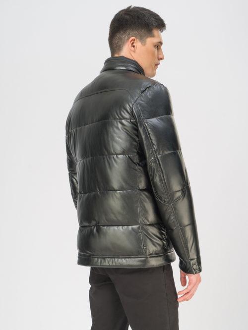 Кожаная куртка артикул 18109081/52 - фото 3