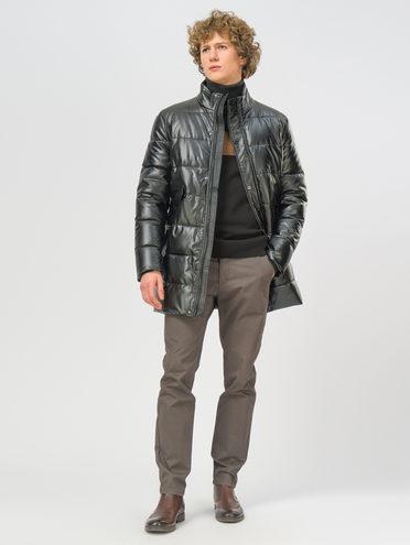 Кожаное пальто эко-кожа 100% П/А, цвет черный, арт. 18109082  - цена 3590 руб.  - магазин TOTOGROUP