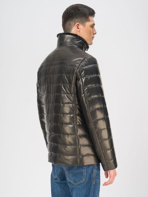 Кожаная куртка артикул 18109100/50 - фото 3
