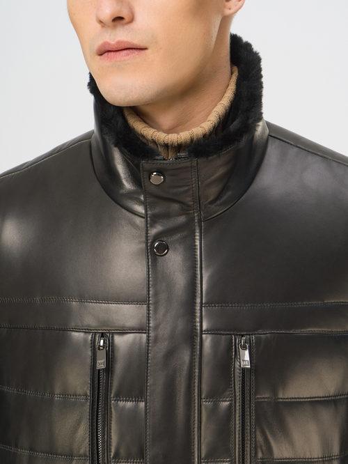 Кожаная куртка артикул 18109100/50 - фото 4