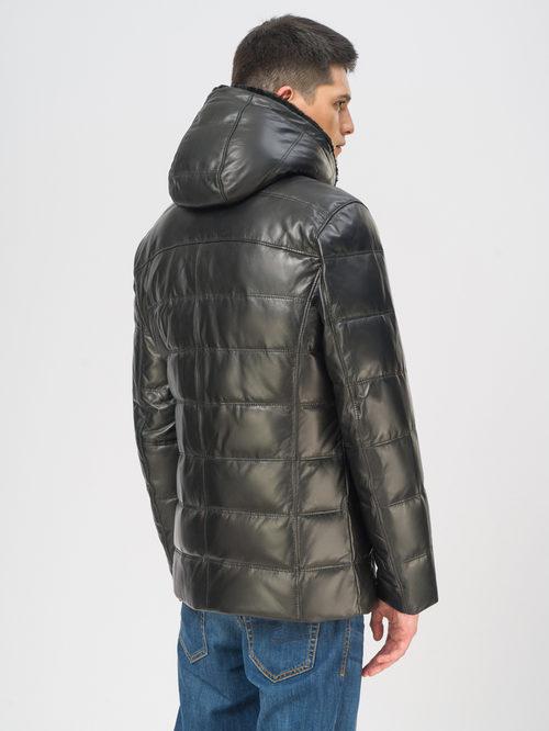 Кожаная куртка артикул 18109105/48 - фото 3