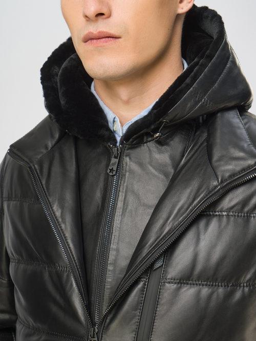 Кожаная куртка артикул 18109105/48 - фото 4