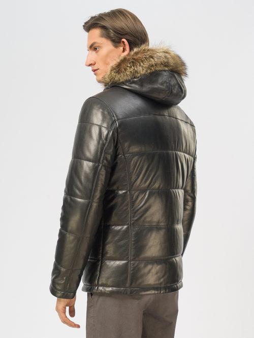 Кожаная куртка артикул 18109159/48 - фото 3