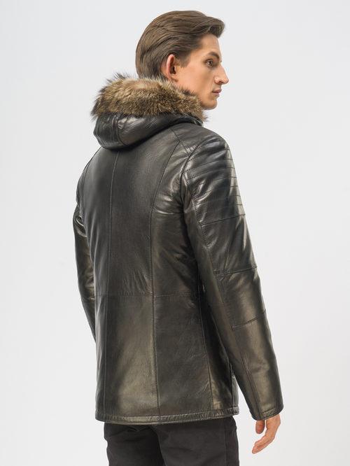 Кожаная куртка артикул 18109164/48 - фото 3