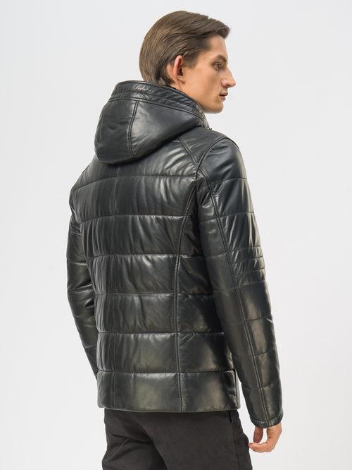 Кожаная куртка артикул 18109165/48 - фото 3