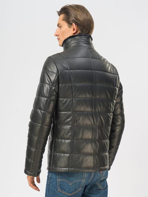 Кожаная куртка артикул 18109168/48 - фото 3