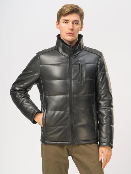 Кожаная куртка артикул 18109169/56 - фото 2