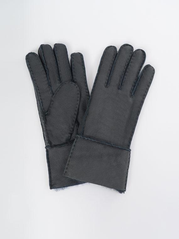Перчатки дуб. овчина, цвет черный, арт. 18109377  - цена 990 руб.  - магазин TOTOGROUP