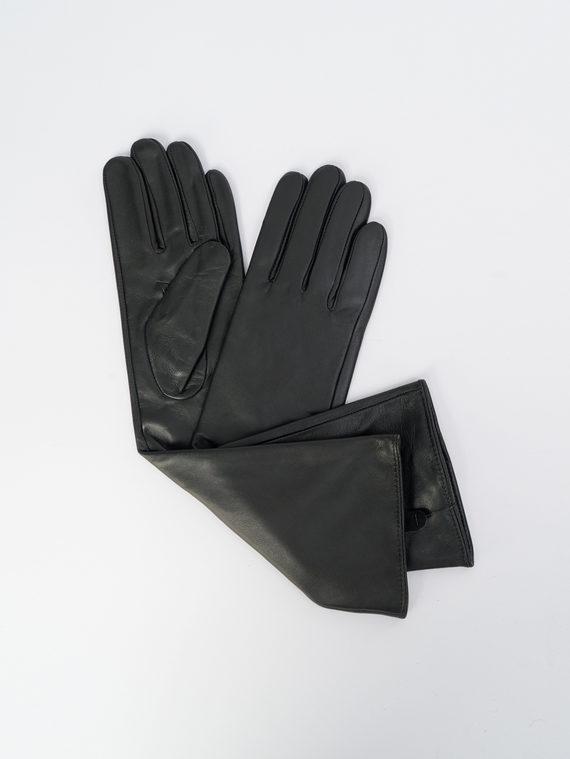 Перчатки кожа, цвет черный, арт. 18109385  - цена 1990 руб.  - магазин TOTOGROUP