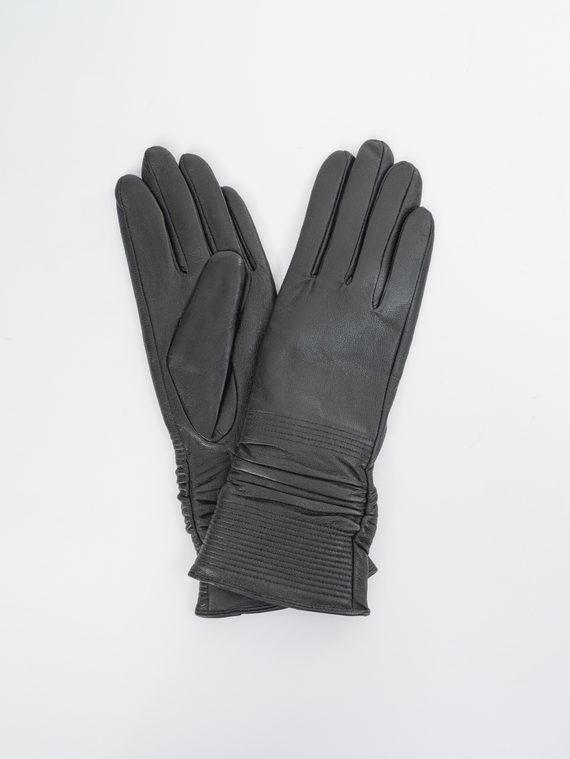Перчатки кожа, цвет черный, арт. 18109389  - цена 1130 руб.  - магазин TOTOGROUP