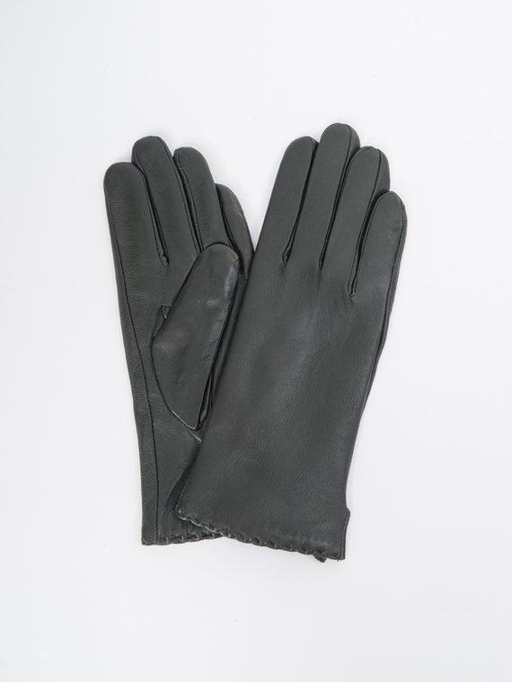 Перчатки кожа, цвет черный, арт. 18109391  - цена 1410 руб.  - магазин TOTOGROUP