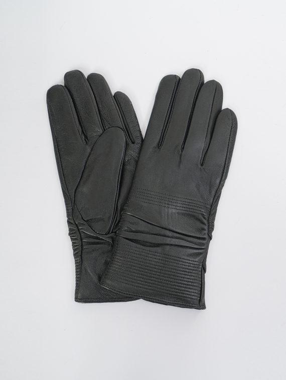 Перчатки кожа, цвет черный, арт. 18109396  - цена 1070 руб.  - магазин TOTOGROUP