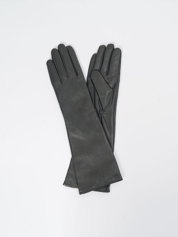 Перчатки кожа, цвет черный, арт. 18109406  - цена 2060 руб.  - магазин TOTOGROUP