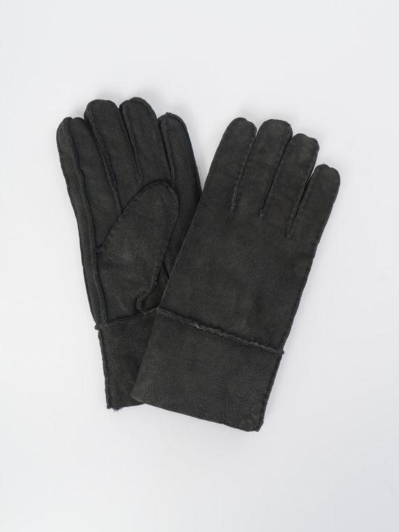 Перчатки дуб. овчина, цвет черный, арт. 18109411  - цена 990 руб.  - магазин TOTOGROUP