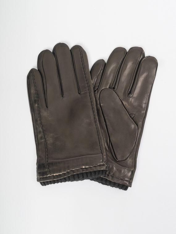 Перчатки кожа коза, цвет черный, арт. 18109421  - цена 1850 руб.  - магазин TOTOGROUP