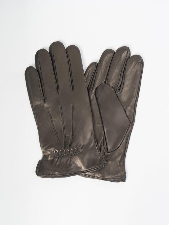 Перчатки кожа коза, цвет черный, арт. 18109422  - цена 1850 руб.  - магазин TOTOGROUP