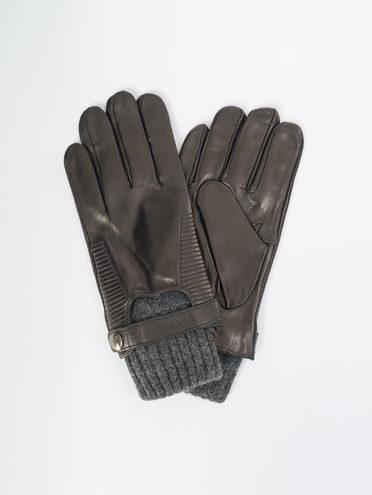 Перчатки кожа коза, цвет черный, арт. 18109425  - цена 2290 руб.  - магазин TOTOGROUP