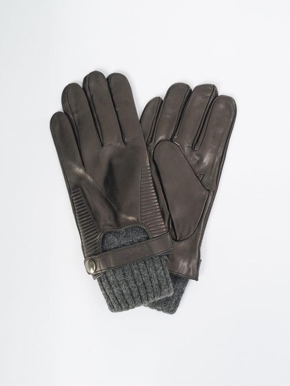 Перчатки кожа коза, цвет черный, арт. 18109425  - цена 1850 руб.  - магазин TOTOGROUP