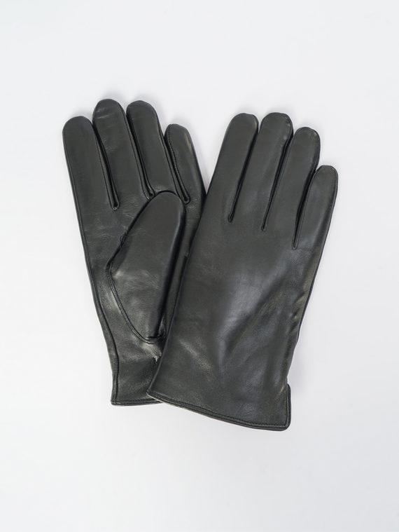 Перчатки кожа коза, цвет черный, арт. 18109426  - цена 1950 руб.  - магазин TOTOGROUP