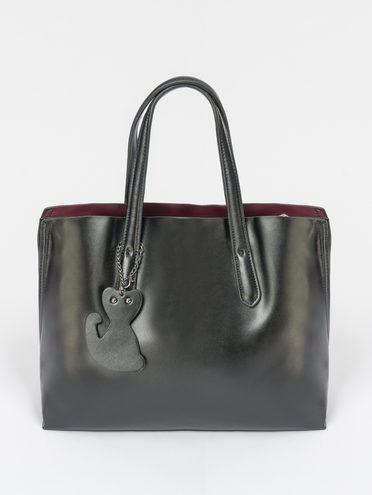 Сумка кожа теленок, цвет черный, арт. 18109491  - цена 7490 руб.  - магазин TOTOGROUP