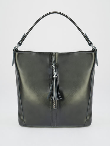 Сумка кожа теленок, цвет черный, арт. 18109590  - цена 4490 руб.  - магазин TOTOGROUP
