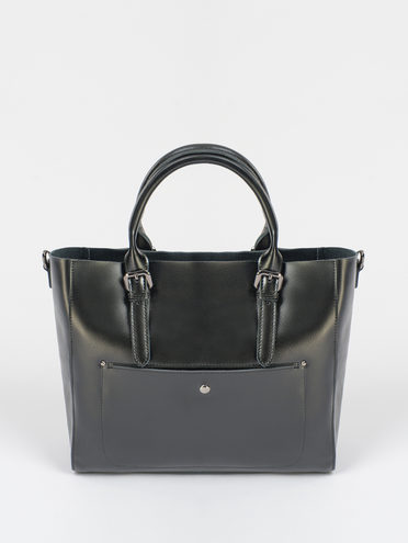 Сумка кожа теленок, цвет черный, арт. 18109591  - цена 5290 руб.  - магазин TOTOGROUP