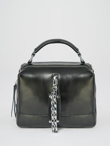 Сумка кожа теленок, цвет черный, арт. 18109592  - цена 4740 руб.  - магазин TOTOGROUP