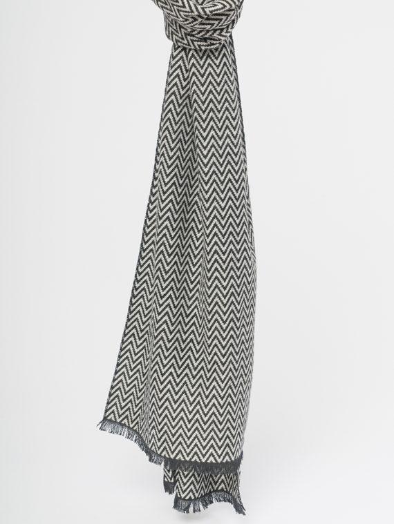 Шарф , цвет черный, арт. 18109695  - цена 890 руб.  - магазин TOTOGROUP