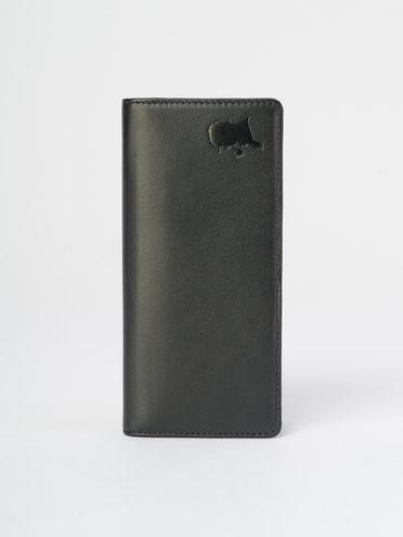 Кошелек кожа теленок, цвет черный, арт. 18109801  - цена 1130 руб.  - магазин TOTOGROUP