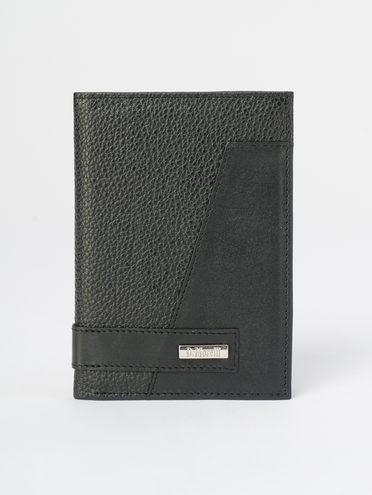 Кошелек кожа теленок, цвет черный, арт. 18109821  - цена 1410 руб.  - магазин TOTOGROUP