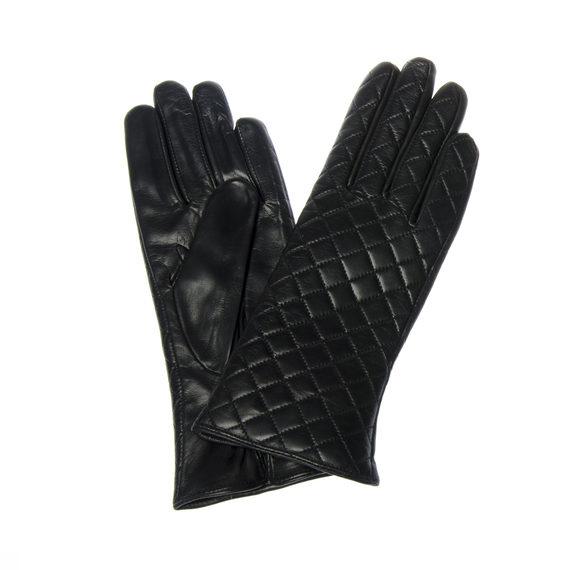 Перчатки кожа , цвет черный, арт. 18302273  - цена 1950 руб.  - магазин TOTOGROUP