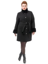 Текстильное пальто артикул 18501766/52 - фото 2