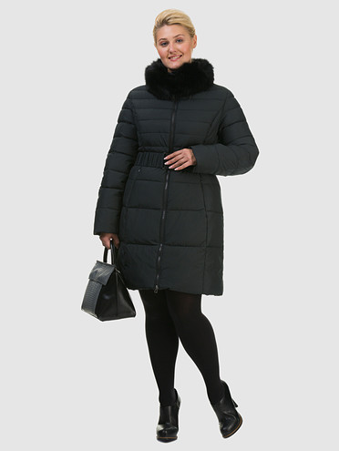 Пуховик текстиль, цвет черный, арт. 18602035  - цена 6290 руб.  - магазин TOTOGROUP