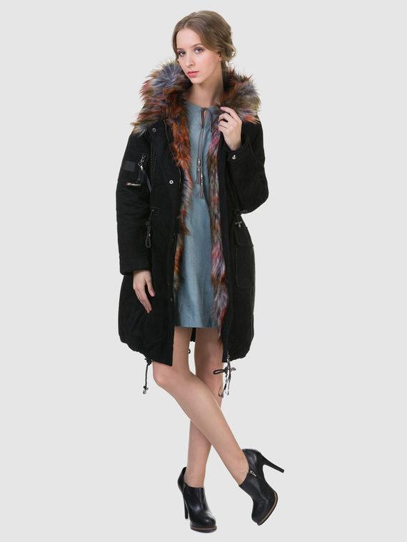 Пуховик текстиль, цвет черный, арт. 18602936  - цена 5890 руб.  - магазин TOTOGROUP