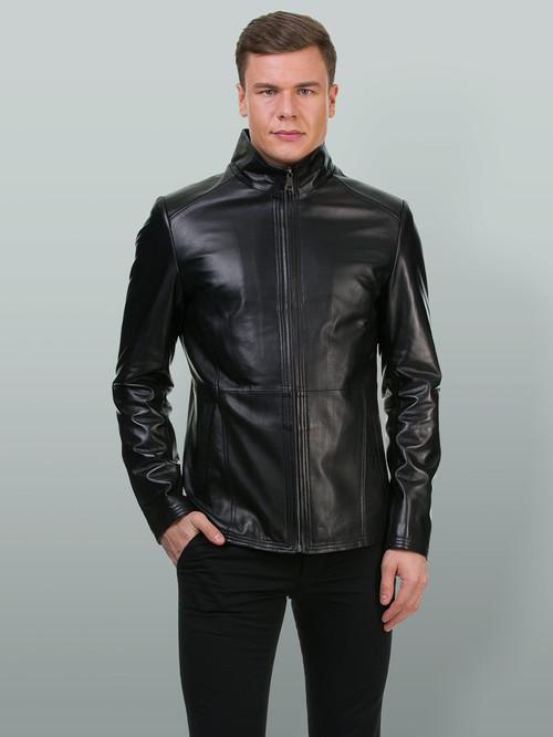 Кожаная куртка артикул 18700197/48 - фото 2