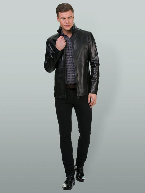 Кожаная куртка артикул 18700197/48