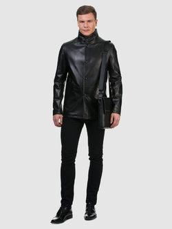 Кожаная куртка кожа овца, цвет черный, арт. 18700198  - цена 16191 руб.  - магазин TOTOGROUP