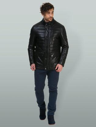 Кожаная куртка эко кожа 100% П/А, цвет черный, арт. 18700211  - цена 7990 руб.  - магазин TOTOGROUP