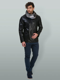 Кожаная куртка эко кожа 100% П/А, цвет черный, арт. 18700216  - цена 7990 руб.  - магазин TOTOGROUP
