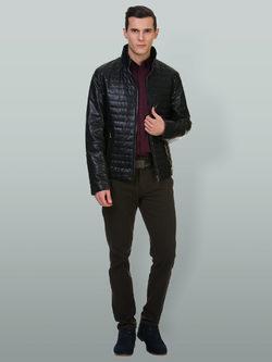 Кожаная куртка эко кожа 100% П/А, цвет черный, арт. 18700217  - цена 7990 руб.  - магазин TOTOGROUP