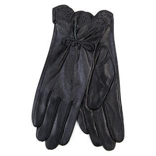 Перчатки кожа овца, цвет черный, арт. 18700267  - цена 940 руб.  - магазин TOTOGROUP