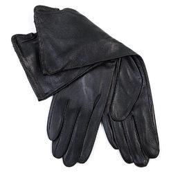 Перчатки кожа овца, цвет черный, арт. 18700271  - цена 1190 руб.  - магазин TOTOGROUP