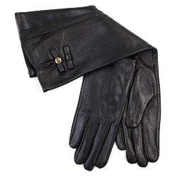 Перчатки кожа овца, цвет черный, арт. 18700284  - цена 2170 руб.  - магазин TOTOGROUP