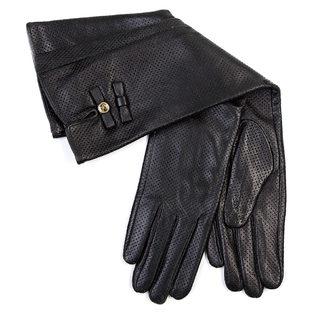 Перчатки кожа овца, цвет черный, арт. 18700284  - цена 2601 руб.  - магазин TOTOGROUP