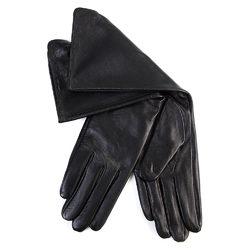 Перчатки кожа овца, цвет черный, арт. 18700285  - цена 1850 руб.  - магазин TOTOGROUP