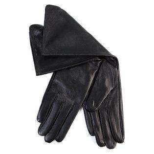 Перчатки кожа овца, цвет черный, арт. 18700285  - цена 1971 руб.  - магазин TOTOGROUP