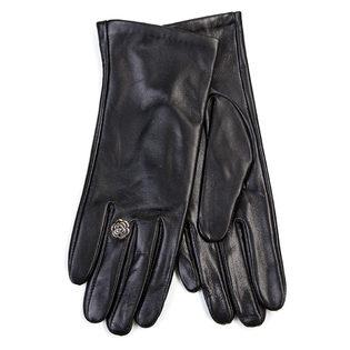 Перчатки кожа овца, цвет черный, арт. 18700286  - цена 1832 руб.  - магазин TOTOGROUP